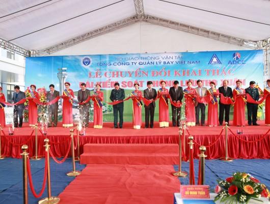 VATM: Tổ chức Lễ chuyển đổi khai thác Đài Kiểm soát không lưu Thọ Xuân