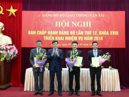 Chủ tịch Hội đồng thành viên Tổng công ty Phạm Việt Dũng được bổ sung vào Ban Chấp hành Đảng bộ Bộ Giao thông vận tải nhiệm kỳ 2015-2020