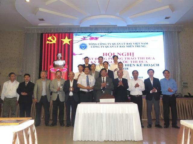 Công ty Quản lý bay miền Trung: Hội nghị đại biểu Người lao động năm 2018