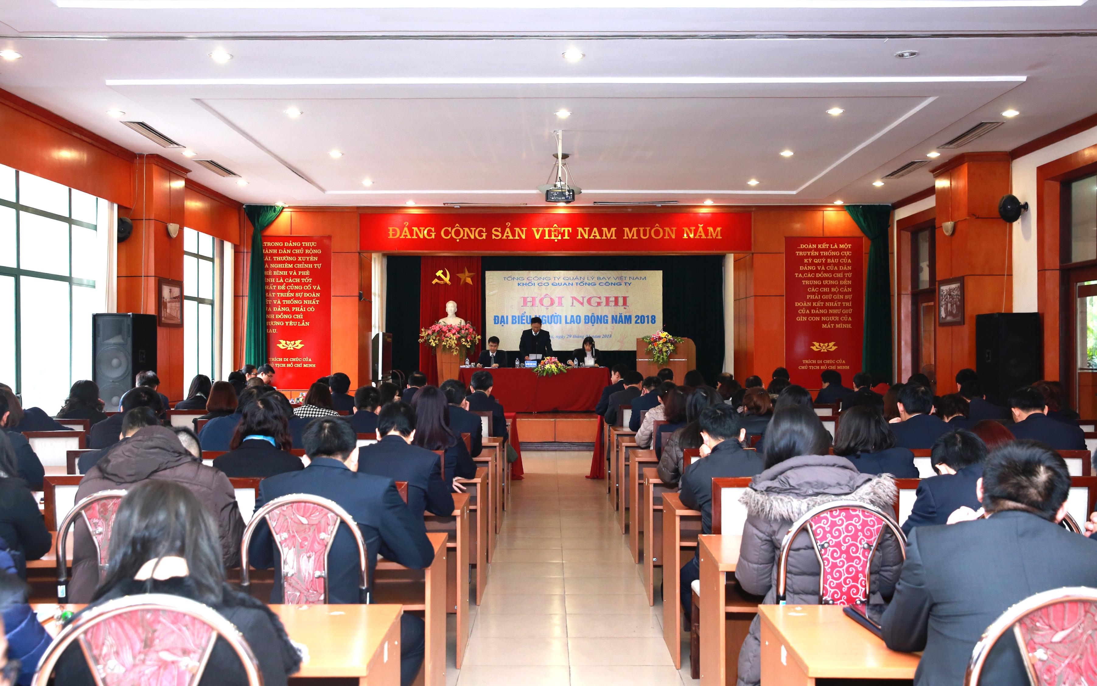 Hội nghị đại biểu Người lao động Khối Cơ quan Tổng công ty năm 2018