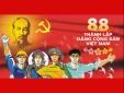 Kỷ niệm 88 năm ngày thành lập Đảng Cộng sản Việt Nam (03/02/1930- 03/02/2018)