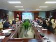 Ban Chấp hành Đảng bộ Trung tâm Thông báo tin tức hàng không làm việc với Ban Chấp hành Đoàn cơ sở và Ban Chấp hành Công đoàn cơ sở