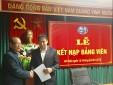 Chi bộ Trung tâm Phối hợp tìm kiếm cứu nạn Hàng không tổ chức lễ kết nạp đảng viên mới