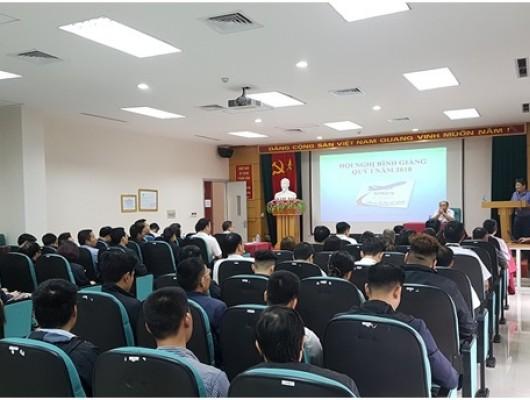 Hội nghị bình giảng Quý I năm 2018 Công ty Quản lý bay miền Bắc