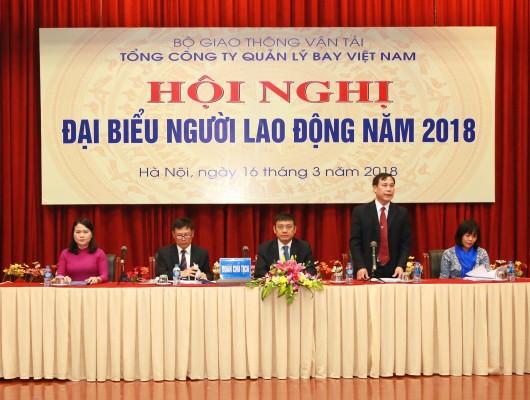 VATM: Tổ chức thành công Hội nghị đại biểu Người lao động năm 2018