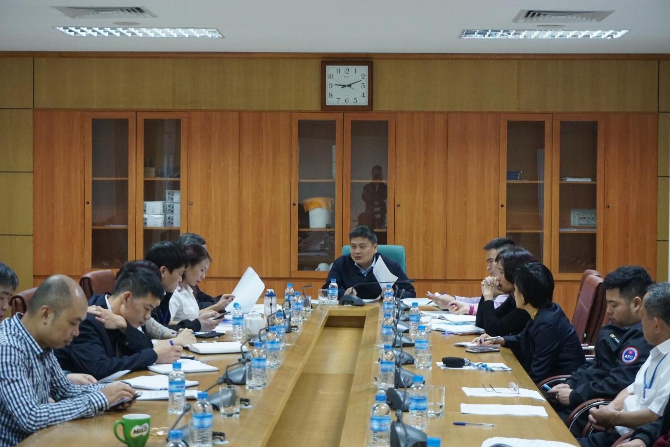 Hội nghị kiểm tra của Ủy ban kiểm tra Công đoàn cơ sở Công ty Quản lý bay miền Bắc đối với hai tổ chức công đoàn trực thuộc