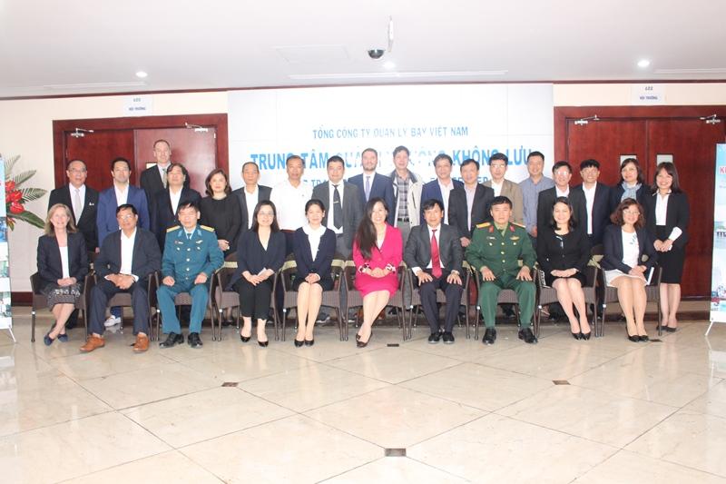 Khởi động dự án Hỗ trợ kỹ thuật xây dựng kế hoạch tổng thể triển khai quản lý luồng không lưu tại Việt Nam