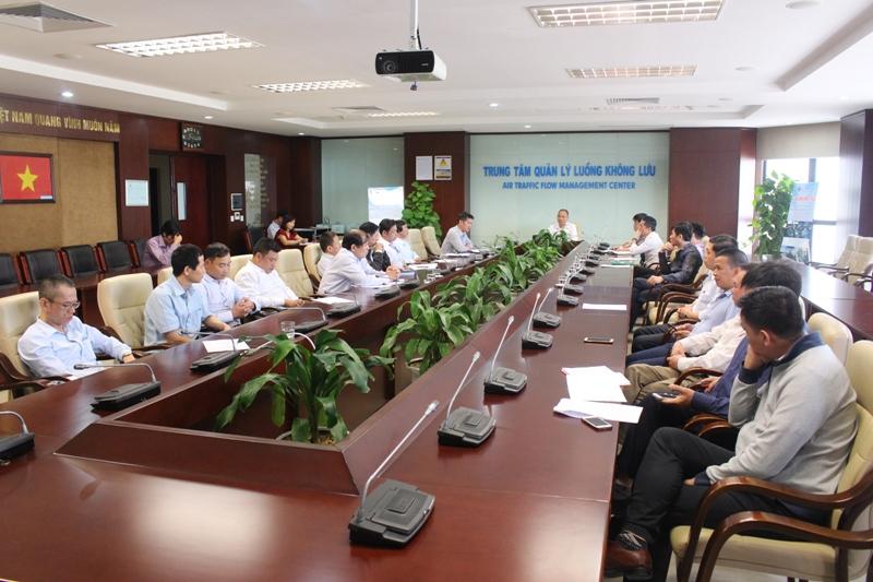Tăng cường công tác kiểm tra đảm bảo an toàn phòng cháy và chữa cháy tại Tổng công ty Quản lý bay Việt Nam