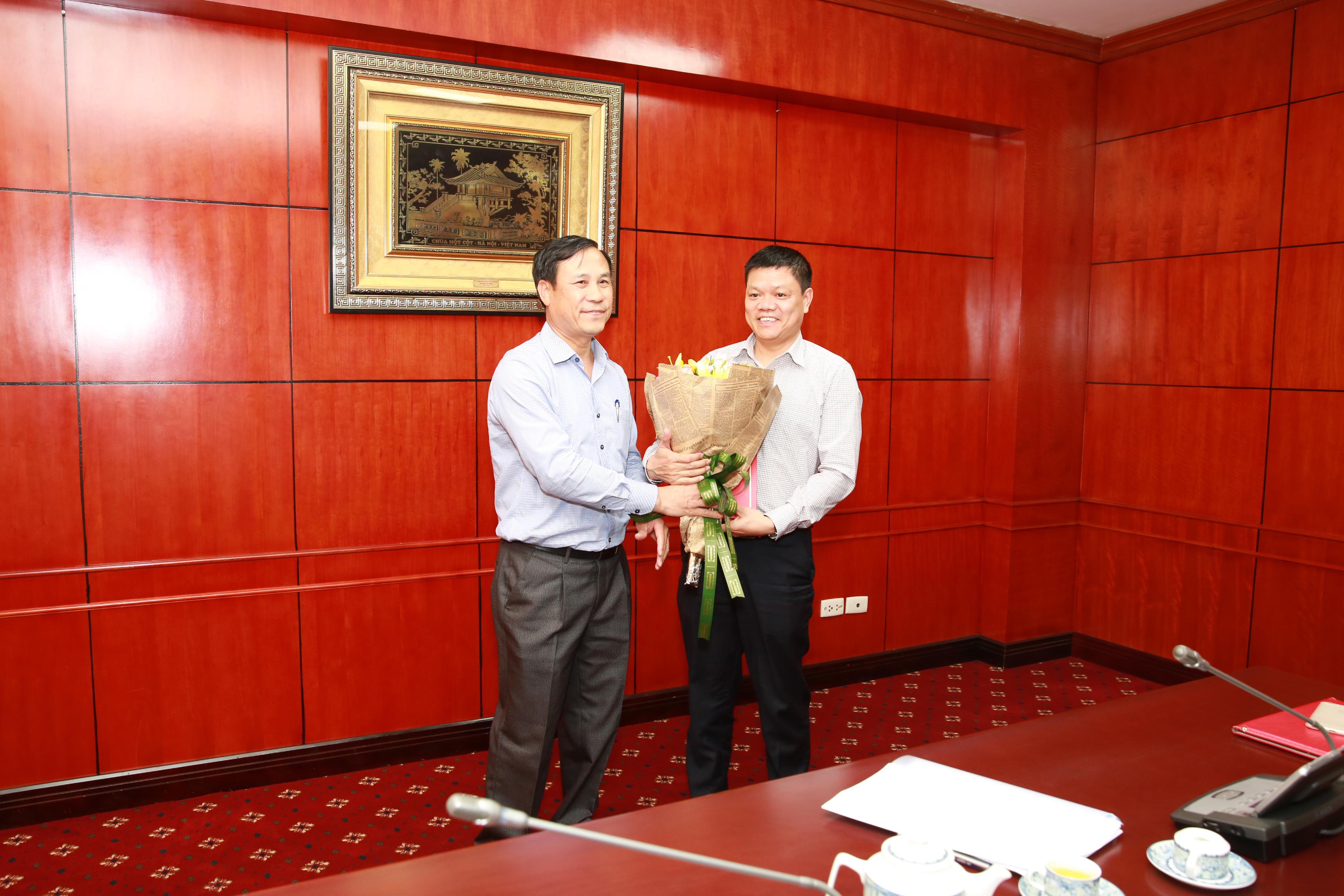 VATM: Công bố Quyết định bổ nhiệm Phó Trưởng ban Tổ chức cán bộ - Lao động