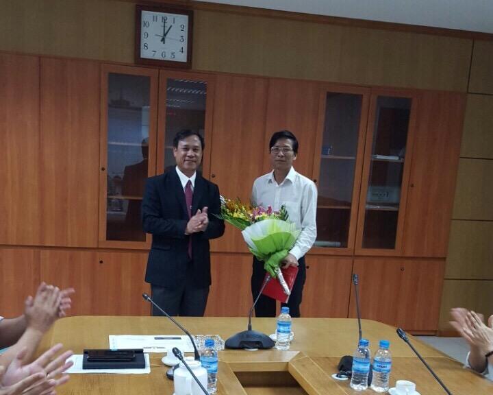 Công ty Quản lý bay miền Bắc công bố Quyết định bổ nhiệm đồng chí Đàm Thế Hưng giữ chức Phó Giám đốc Công ty Quản lý bay miền Bắc