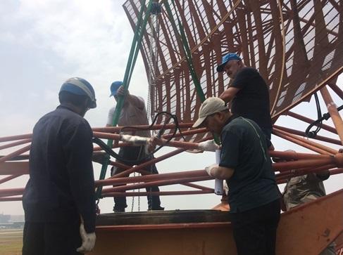 Hỗ trợ hãng Thales sửa chữa radar Tân Sơn Nhất