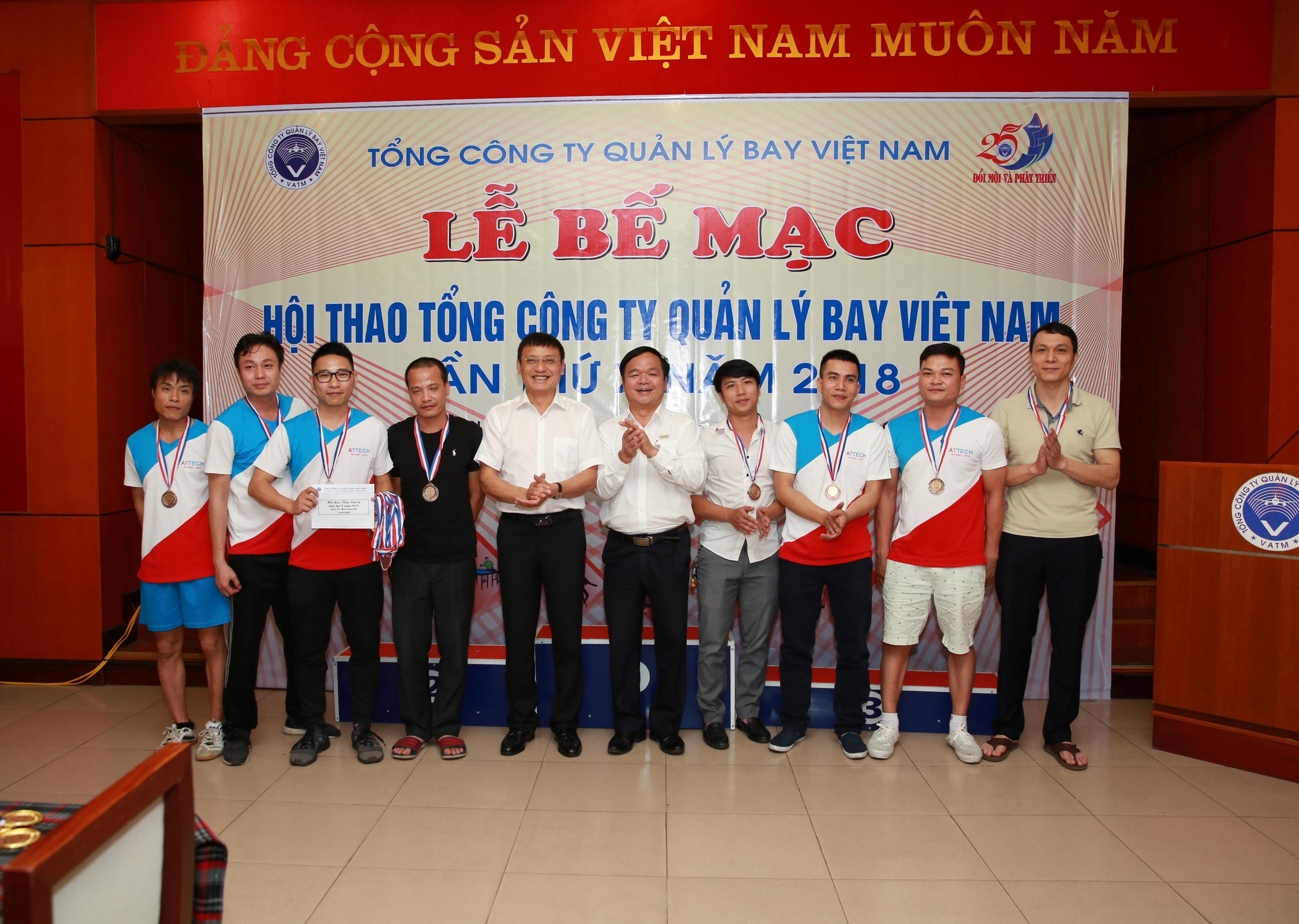 Bế mạc Hội thao Tổng công ty Quản lý bay Việt Nam lần thứ X năm 2018