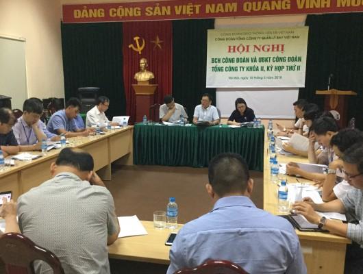 Hội nghị BCH Công đoàn Tổng công ty Quản lý bay Việt Nam khóa II, kỳ họp thứ II