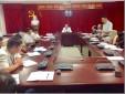 Chi bộ Trung tâm Phối hợp tìm kiếm cứu nạn Hàng không tổ chức sinh hoạt chuyên đề