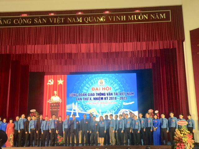 Công đoàn GTVT Việt Nam tổ chức Đại hội Đại biểu lần thứ X, nhiệm kỳ 2018-2023