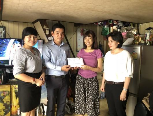 Trung tâm Thông báo tin tức hàng không tổ chức phát động quyên góp ủng hộ đoàn viên công đoàn mắc bệnh hiểm nghèo, có hoàn cảnh khó khăn