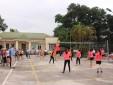 Công đoàn Trung tâm Quản lý luồng không lưu tổ chức Giải bóng chuyền hơi nữ chào mừng kỷ niệm 20 năm thành lập