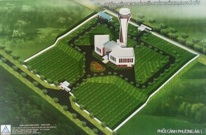 Tổng Công ty Quản lý bay Việt Nam khởi công công trình đài Kiểm soát không lưu Phù Cát