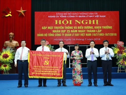 Đảng bộ VATM tổ chức Hội nghị Gặp mặt truyền thống 25 năm ngày thành lập
