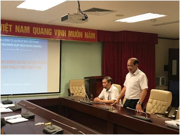 Trung tâm Phối hợp tìm kiếm cứu nạn Hàng không tổ chức khóa huấn luyện thi năng định