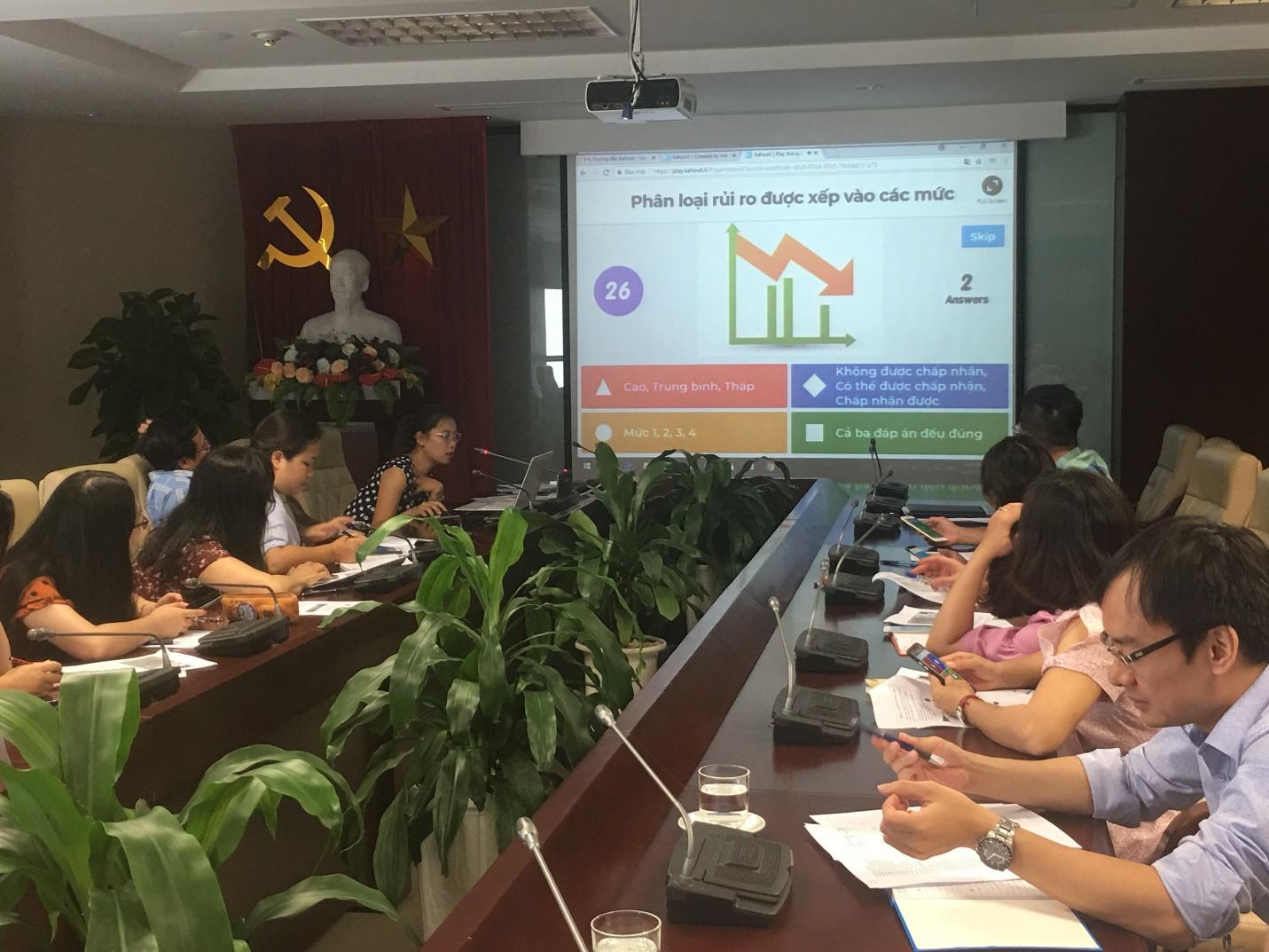 Trung tâm Quản lý luồng không lưu tổ chức khóa huấn luyện về Hệ thống quản lý an toàn
