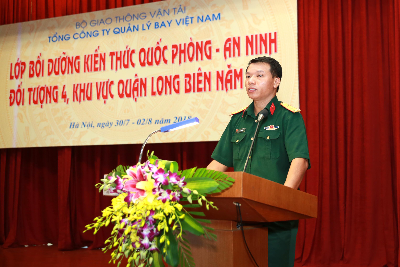 Khai giảng lớp Bồi dưỡng kiến thức Quốc phòng - An ninh đối tượng 4 mở rộng, khu vực Long Biên năm 2018