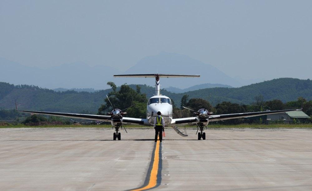 Công tác bảo đảm cho hoạt động bay hiệu chuẩn tại sân bay Vân Đồn