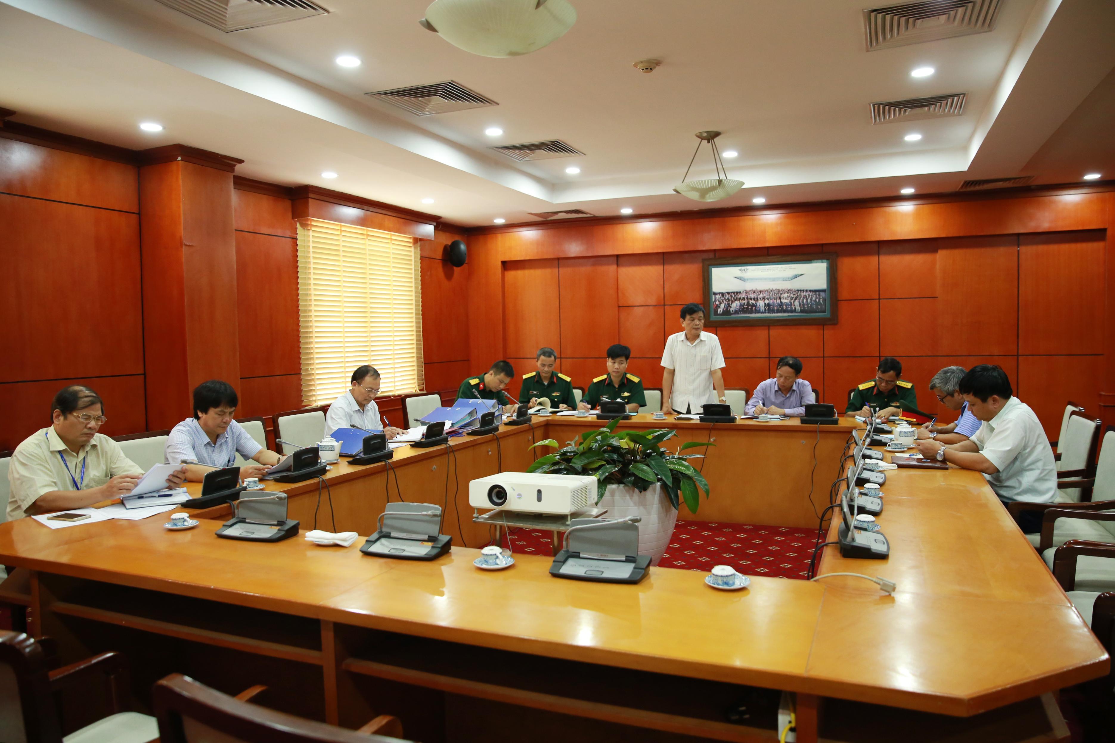 BCH Quân sự Bộ Giao thông vận tải kiểm tra công tác quốc phòng, quân sự tại VATM