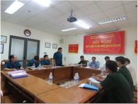 Ban Chỉ huy Quân sự Bộ Giao thông vận tải kiểm tra công tác quốc phòng, quân sự tại Công ty Quản lý bay miền Trung