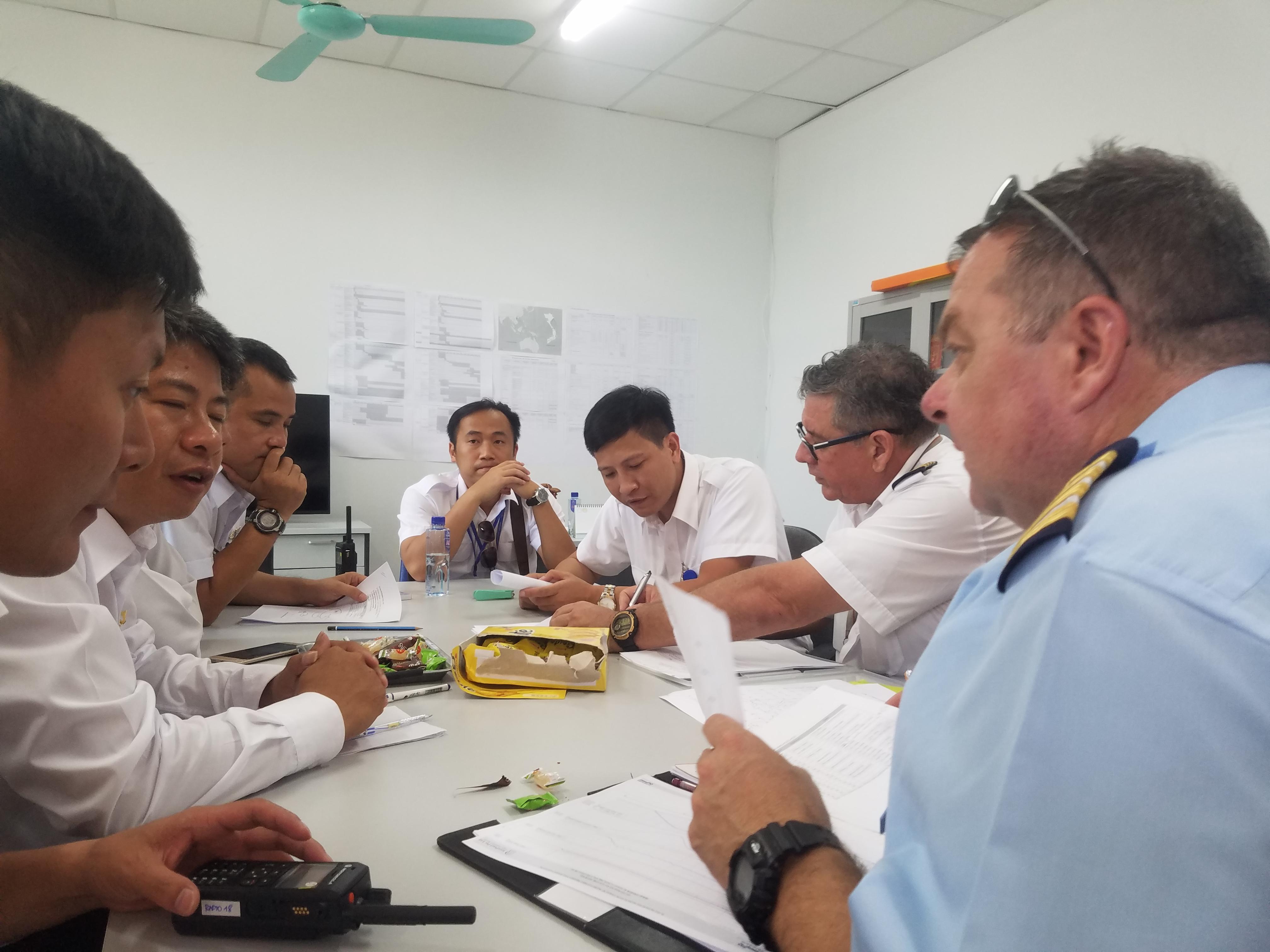 Công ty TNHH Kỹ thuật quản lý bay hoàn thành công tác bay kiểm tra hiệu chuẩn các thiết bị dẫn đường tại Cảng hàng không quốc tế Vân Đồn