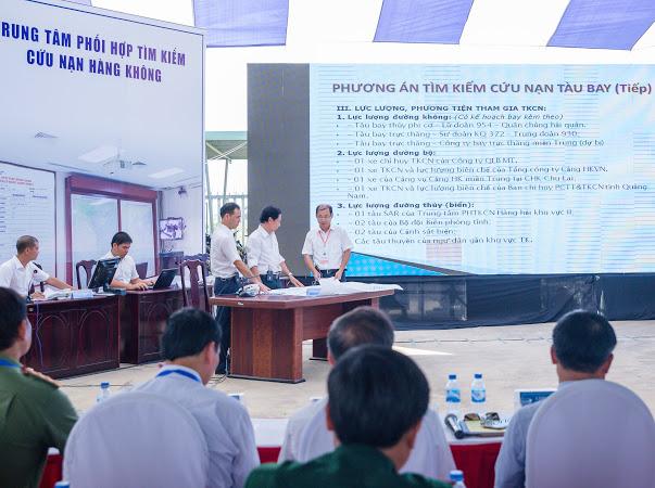 VATM tổ chức diễn tập vận hành cơ chế tìm kiếm cứu nạn Hàng không năm 2018