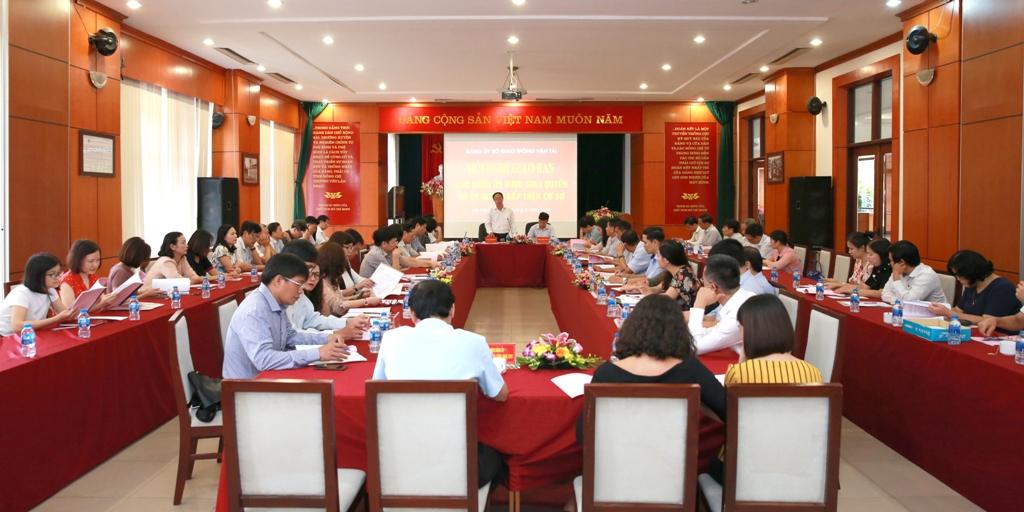 Đảng ủy VATM: Tham gia Hội nghị giao ban quý Đảng ủy Bộ Giao thông vận tải