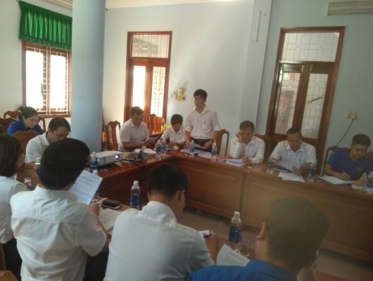 Chương trình kiểm tra công tác Đoàn của Đoàn Thanh niên Tổng công ty tại chi đoàn Quy Nhơn - Phù Cát thuộc đoàn cơ sở Công ty Quản lý bay miền Trung