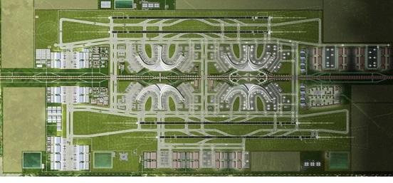 Các công trình bảo đảm hoạt động bay tại Cảng Hàng không Quốc tế Long Thành