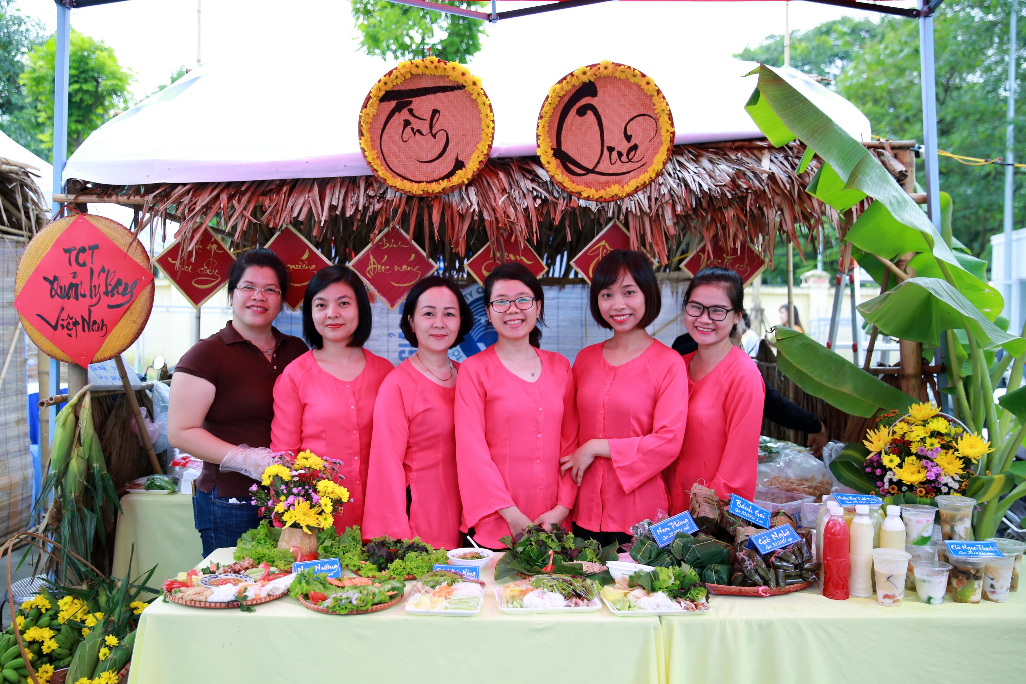Công đoàn VATM tham gia hội chợ Ẩm thực Việt Nam Airlines 2018