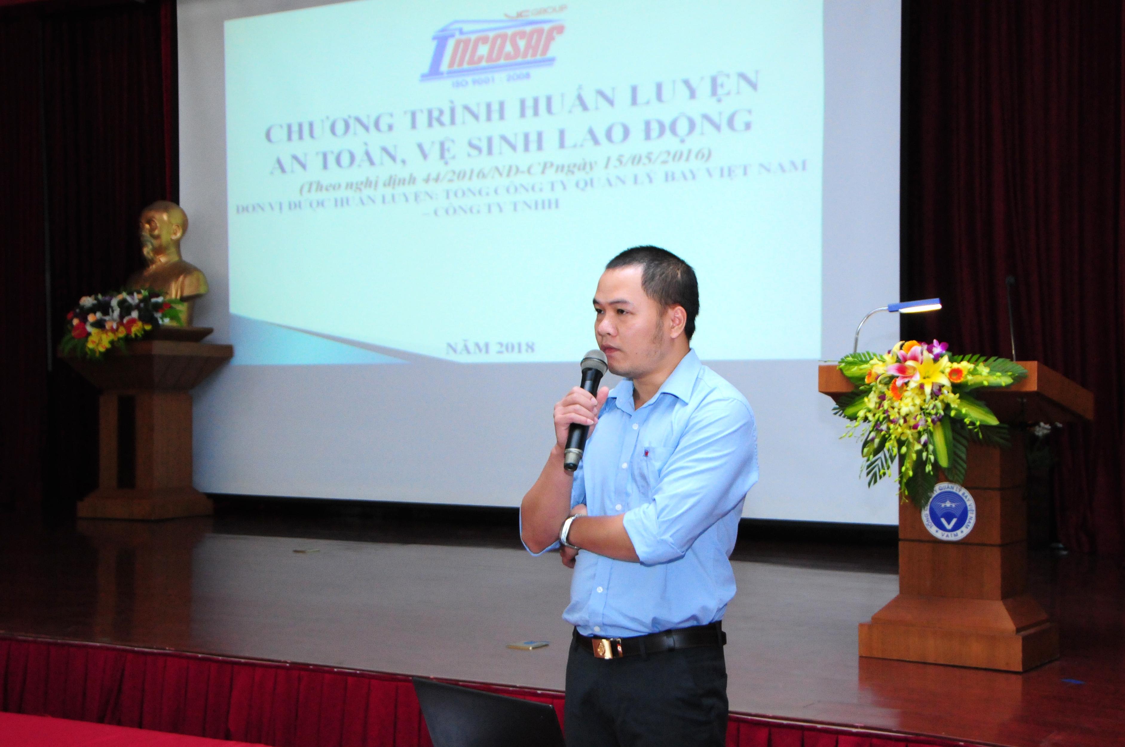 VATM: Huấn luyện an toàn lao động, vệ sinh lao động năm 2018