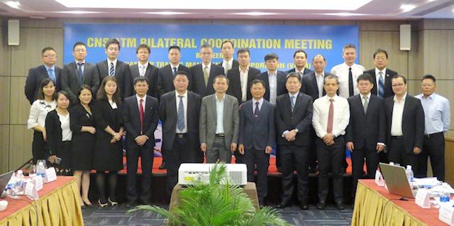 Hội nghị hiệp đồng CNS/ATM năm 2018 giữa Tổng công ty Quản lý bay Việt Nam và Cục Quản lý bay Trung Quốc thuộc Tổng cục Hàng không Trung Quốc