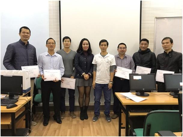 """Nhân viên kỹ thuật của Tổng công ty Quản lý bay Việt Nam tham dự khóa đào tạo về """"CCNA Security"""""""