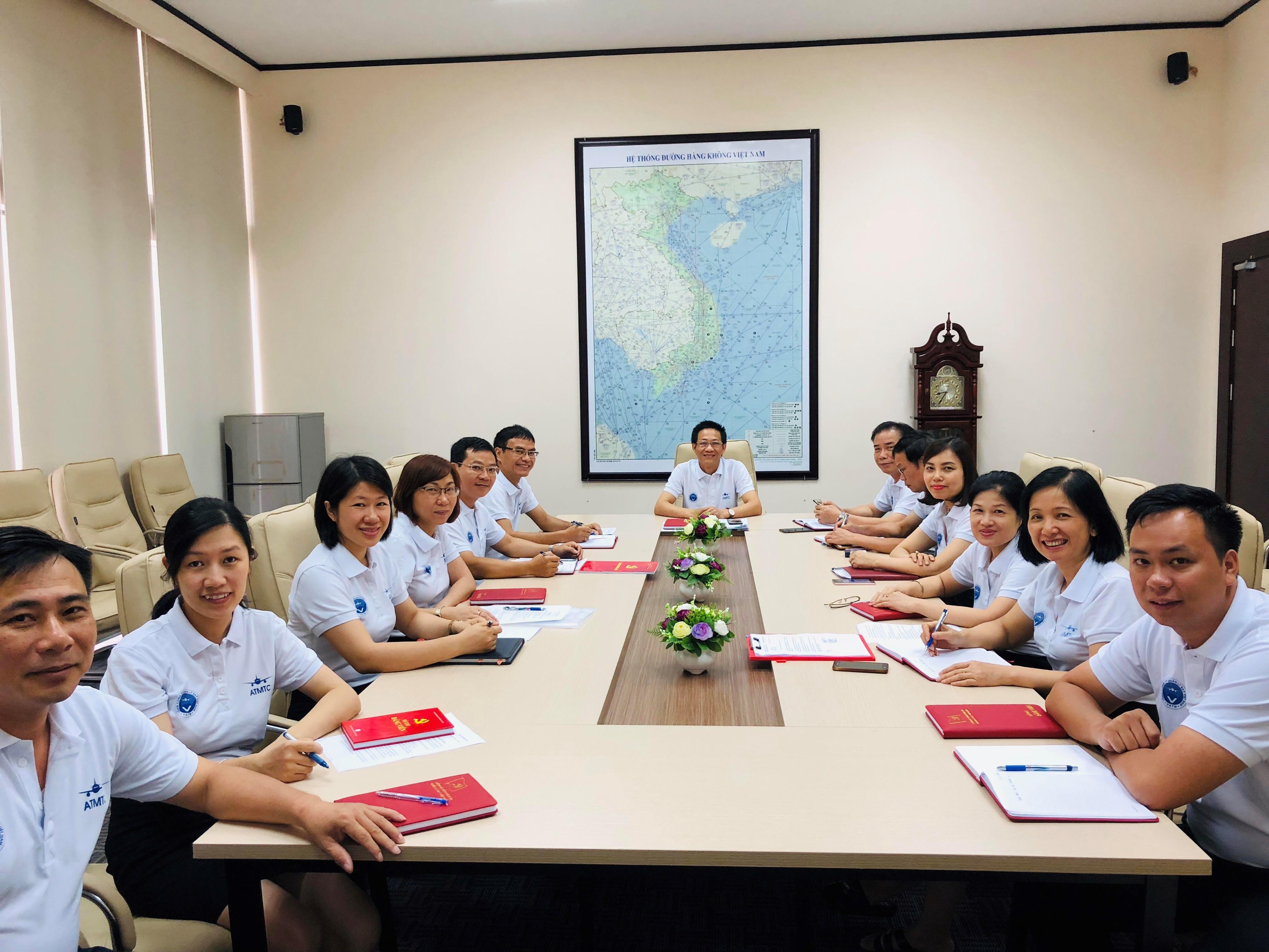 Trung tâm Đào tạo - Huấn luyện nghiệp vụ Quản lý bay tập trung mọi nguồn lực để triển khai, thực hiện kế hoạch năm 2019