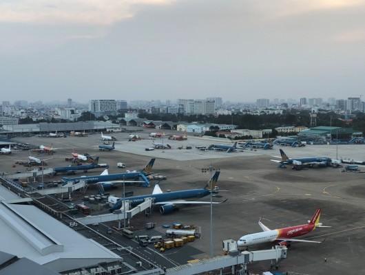 Sân bay Tân Sơn Nhất tiếp thu gần 900 chuyến bay một ngày trong dịp tết Nguyên đán Kỷ Hợi