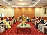 Lãnh đạo VATM gặp mặt chúc mừng lao động nữ nhân ngày 8/3