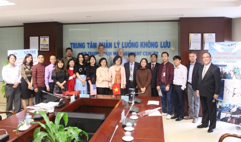 VATM - MITRE tổ chức Hội thảo và Huấn luyện chuyên sâu về quản lý luồng không lưu tại Việt Nam