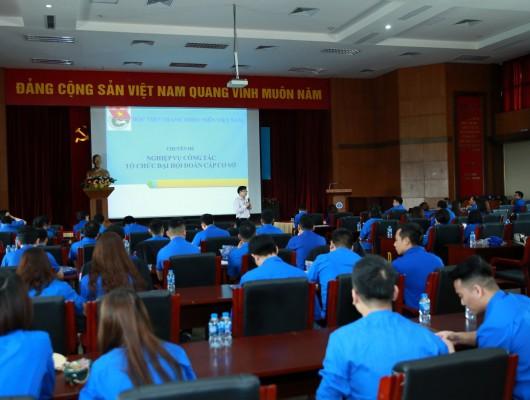 Đoàn Thanh niên Tổng công ty Quản lý bay Việt Nam tổ chức tập huấn nghiệp vụ công tác Đoàn khu vực phía Bắc năm 2019