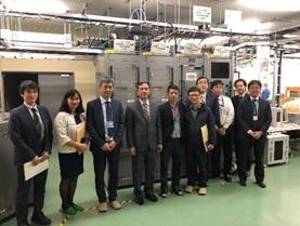 Tổng công ty tham quan hệ thống trang thiết bị giám sát tại sân bay Haneda
