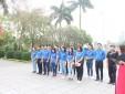 Đoàn Thanh niên Công ty TNHH Kỹ thuật Quản lý bay tổ chức hoạt động về nguồn tại Bắc Giang