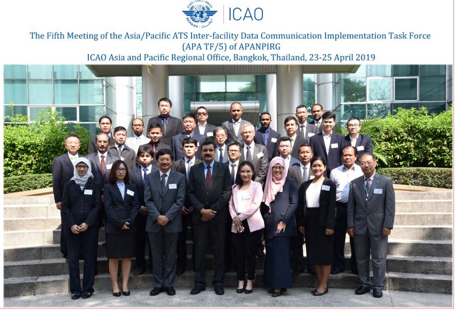 Tổng công ty Quản lý bay Việt Nam tham dự cuộc họp nhóm thực hiện liên lạc dữ liệu giữa các phương tiện dịch vụ không lưu