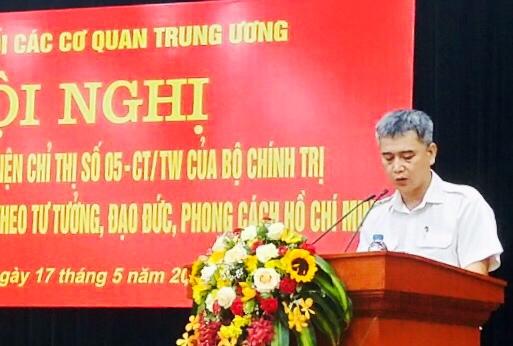 Đảng bộ VATM: Tham dự Hội nghị sơ kết đánh giá 3 năm thực hiện Chỉ thị số 05-CT/TW của Bộ Chính trị
