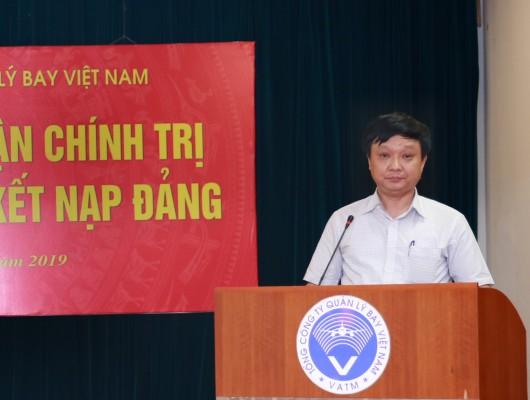 Đảng bộ VATM: Khai giảng lớp bồi dưỡng lý luận chính trị dành cho đối tượng kết nạp đảng năm 2019 khu vực phía Bắc