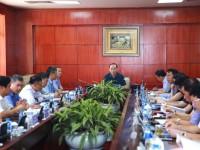 Thứ trưởng Lê Đình Thọ đến thăm và làm việc với VATM