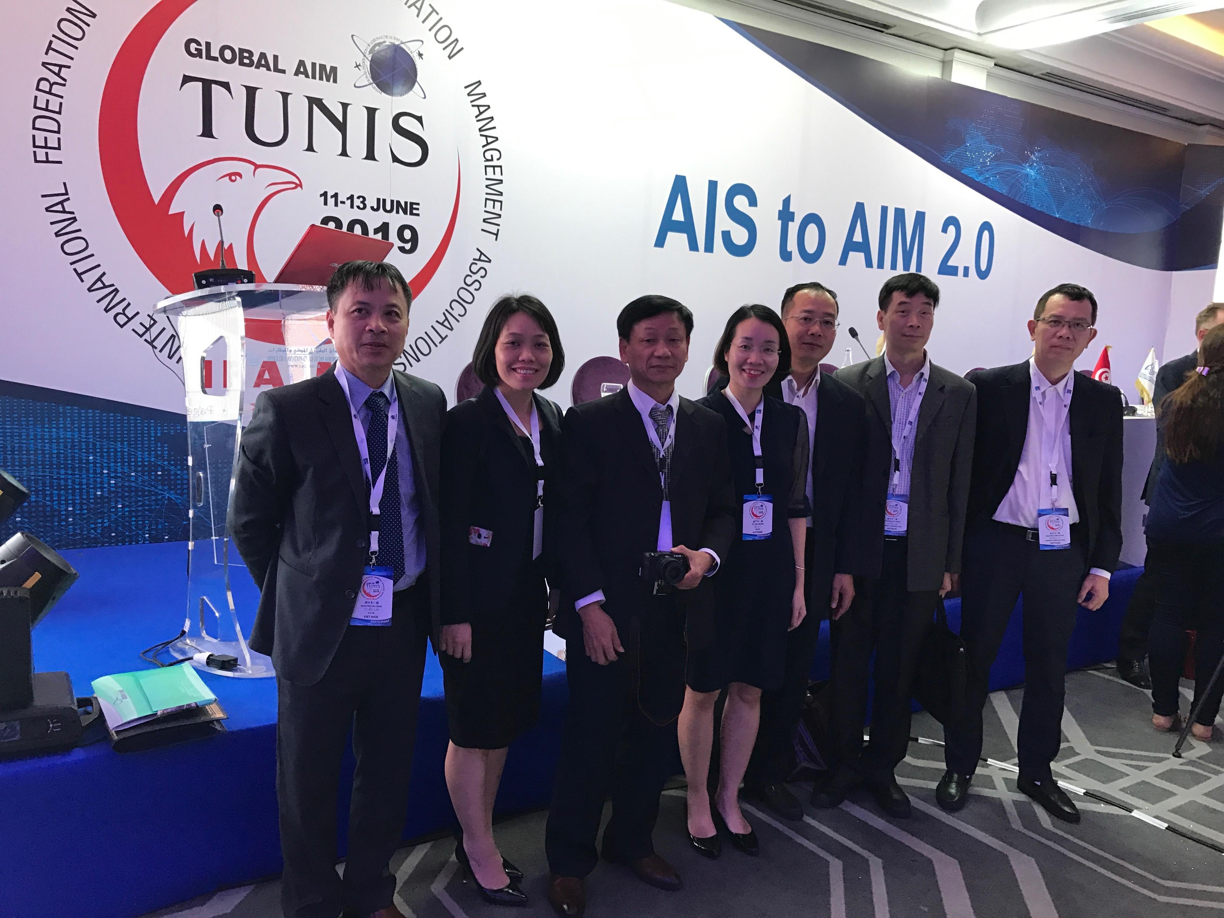 Việt Nam tham dự Hội nghị Quản lý tin tức hàng không (AIM) toàn cầu 2019